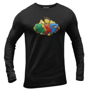 Black T-Shirt Long Sleeve