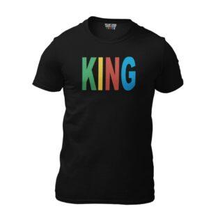 King Black T-Shirt